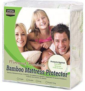 Opiniones De Cubre Colchon 90215190 Impermeable Bambu De Compradores. Comprar Con Grandes Ofertas